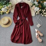 fashion Vintage shirt dress