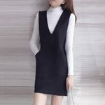 Slim Long Sleeve Fashion Elegant Office Dress