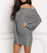 sleeve package hip led cultivate morality sweater dress