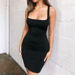 fashion Backless Sexy Wrap sleeveless Party Dress