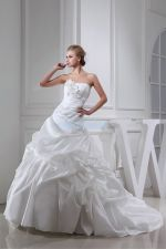 new design luxury flowers bridal gown wedding dress