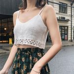 Sexy Crochet Camisole Knitted Tank Top