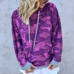 Causal Long Sleeve Pullover Camouflage Hoodies