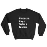 Hip Hop Rock Freddie  Mercury Deacon Sweatshirt