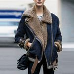 Casual Long Sleeves Faux Fur Suede Thick Jackets