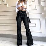 High Waist Flare Street Style Skinny Sexy Vintage Jeans