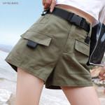 Belt Fashion Casual Cargo Shorts