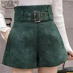 Elegant Wide Leg Pants Casual High Waist Shorts