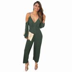 High Sexy Casual Waist Loose Long Jumpsuit