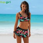 Sexy Push-Up Two Pieces print sport Bikini