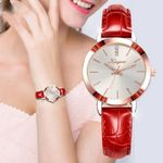 Luxury Leather Brand Strap Watches