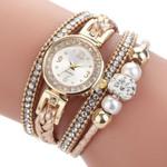 Casual Round Analog Quartz Wrist Beautiful Fashion Bracelet Watch
