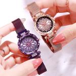 casual quartz fashion magnet steel belt watches
