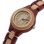 Natural Bangle Wrist Elegant Vintage Fashion Wooden Watches