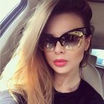 fashion leopard retro sexy cat eye sunglasses