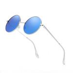 Coating Mirror Driving Polaroid Round Fashion Unisex Polarized Sunglasses