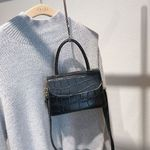 Retro Crocodile Pattern Luxury Handbags