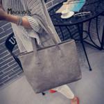 Brief Shoulder Capacity Luxury Fashion Leather Handbag