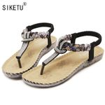 Rhinestone Leisure Beach  Fashion Sandals