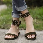 gladiator open toe jelly sandals