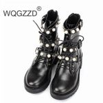 Pearl  Luxury Genuine Leather Boots