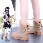 Thick Sole Non-slip Warm Ankle Snow boots