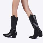 Knee High Cowboy Western Pointed Toe  Boots