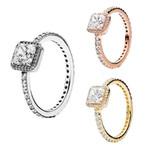 Wedding Fashion Jewelry Four Claw Elegance Crystal Rings
