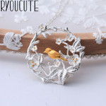 Pendants Collar Jewelry Vintage Bird Necklaces