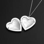 Love Heart Pendant Open Locket Necklaces