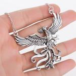 Fashion Chain Phoenix Jewelry Pendant  Choker Necklace