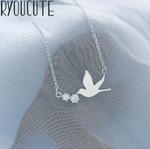 Pendants Statement Vintage Swallow Necklaces