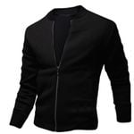 Casual Hip Hop Slim Fit Zipper Jacket