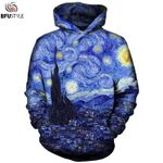 Tops Casual 3D Sportswear New Fashion Pullover Hoodie