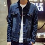 Casual Youth Slim hip hop teenagers Denim Jacket