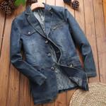 Casual Fashion Vintage Denim Jacket