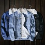 Loose Cotton Thick Warm Warm Fleece Lamb Denim Jackets