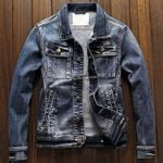 Biker Korean New Overcoats Denim Jacket
