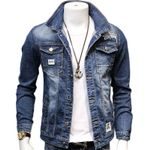 cotton Outwear  Fashion Denim Jackets