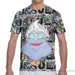 Short Sleeve  all over print fashion t shirt