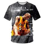 Championship Lakers Star Casual 3d Print T-shirt