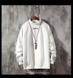 Warm Woolen Lining Stand Collar Sweatshirt