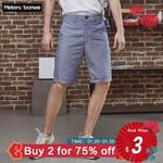 Cotton Line Fashion Vintage Casual Short