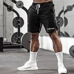 Fitness Joggers Quick Dry Mesh Gym Shorts