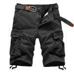 Multi Pocket Military Zipper Army Cargo Shorts