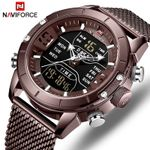 Luxury Stainless Steel Waterproof  Sports Quartz Watches