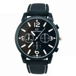 Fashion Stainless Steel Case Analog Quartz Watch
