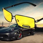 Protection Polarized Yellow Lens Night Vision Sunglasses
