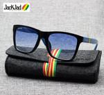 Gradient Fashion Vintage Square Style Sunglasses
