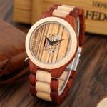 Arts Hollow Quartz Wood Watches